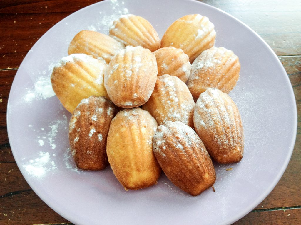 magdalenas francesas_azúcar
